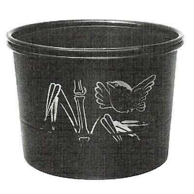 竹型建水(湯こぼし)